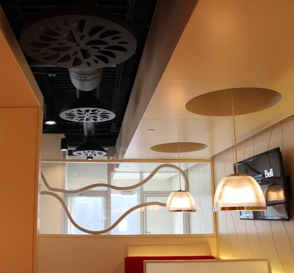 Nex C Architectural Round Swirl Diffuser