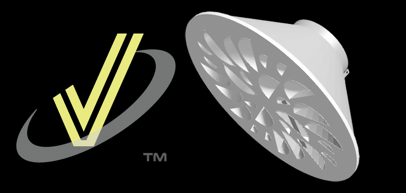 3d View of NEX-C Architectural Swirl Diffuser
