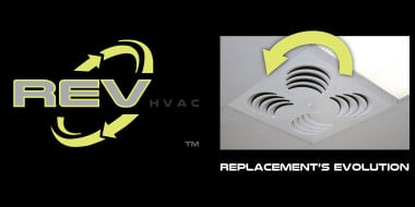 EffectiV HVAC Inc. Introduces New REV HVAC Division, Brand, and Diffuser