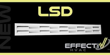 Nouveau diffuseur linéaire à haute induction LSD