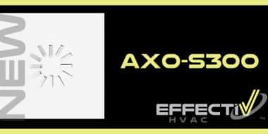 Nouveau diffuseur hélicoidal à haute induction pour très bas cfm AXO-S300