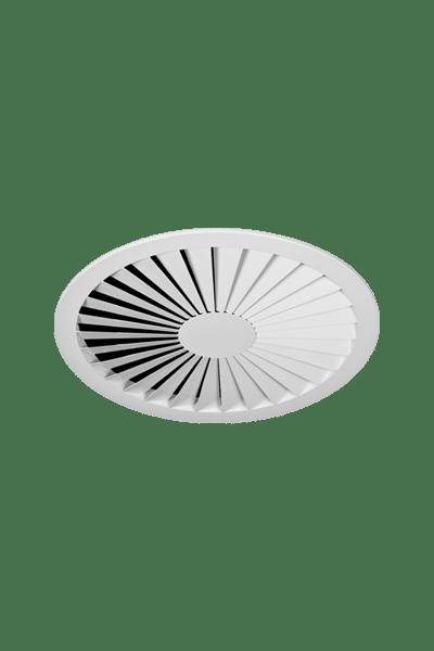 RXO-C Round Stamped Steel Swirl Diffuser