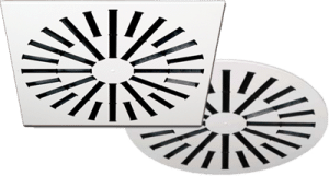 AXO High Induction Adjustable Vanes Diffusers