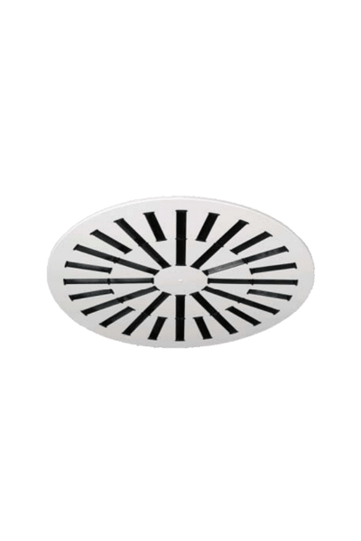 AXO-C Adjustable Vanes High Induction Round Swirl Diffuser