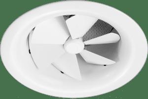AX6 Aluminum Adjustable Round Swirl Diffuser