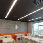 Black NEX-S in cafeteria, Navada's new head office