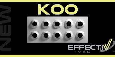 New Product: KOO Adjustable Long Throw Multi-Jet Nozzle Diffusers