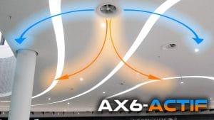 AX6-ACTIF Thermodynamic Swirl Diffuser