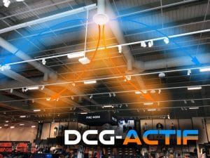 DCG-ACTIF Thermal Round Diffuser