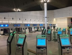 KAM-W Nozzle Jet Diffusers in Airport