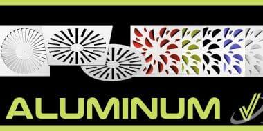 Nouveaux diffuseurs hélicoïdaux en aluminium